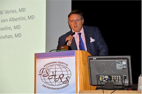 Dr. Cole ISHRS conference